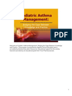 Pediatric Asthma Management