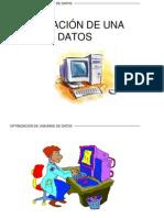 OPTIMIZACIÓN DE UNA BASE DE DATOS1