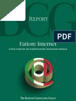 Bcg Internet Economy Study Italy