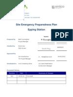 295-Epp-C017-001 Epping Station Emergency Preparedness Plan 04032012