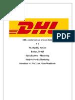 DHL Courier Service Process Study