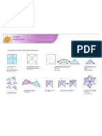 Origami Modular Star Print