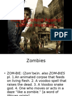 How to Defend Against Zombie Invasions