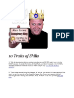 10 Traits of Shills