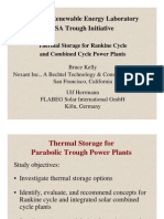 Thermal Storage for Rankine Cycle