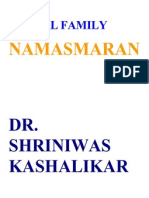 Global Family and Namasmaran Dr. Shriniwas Kashalikar