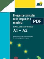 Propuesta curricular de la lengua de signos Española