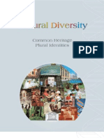 Cultural Diversity Common Heritage Plural Identities