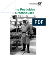 Using Pesticides in Greenhouses