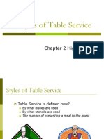 Styles of Service 2