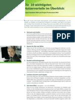 Project Client 2010 Top10 Benefits