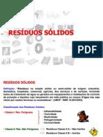 Apresentação - Resíduos Sólidos