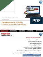 Toshiba Qosmio F750-X5312 Phase-In (14 03 2011)