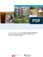 Technology Review Constructed Wetlands