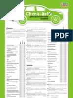 Check List Para Carros Usados Attach s636751