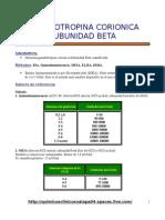 Inmuno Gonadotropina Corionica Subunidad Beta