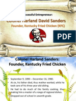 Colonel Harland David Sanders