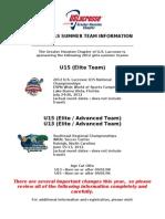 2012 Summer Team Flyer (v3)