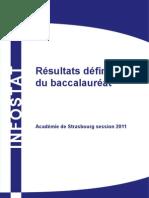 Résultat Bac session 2011