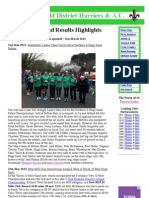 Wakefield District Harriers & AC - Club News 31.03.12