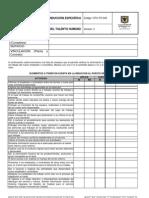 GTH-FO-045 Acta de Induccion Especifica