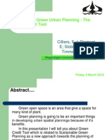 Sustainable Green Urban Planning Yosua