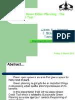 Sustainable Green Urban Planning Yosua