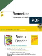 Remediate - opm+regels
