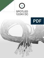 4- spotled 12-24VDC