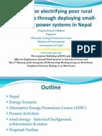 Nepal Small Wind