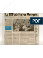 Le  SDF abrite le Mongols