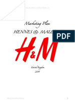 HM Marketing Plan UK