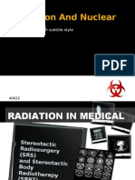 Radiation and Nuclear Physics