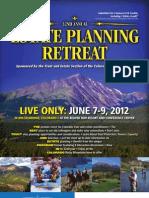 32nd Annual Estate Planning Retreat