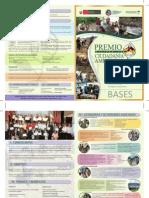 Bases del Premio Nacional de Ciudadanía Ambiental 2012