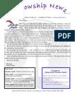 April 3, 2012 Fellowship News