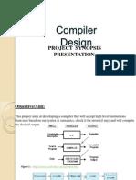 Compiler Design Synopsis Presentation