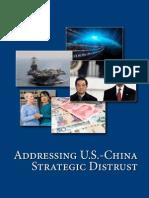 Addressing US-China strategic distrust