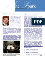 Sparks Newsletter by TORCH - Spring 2012