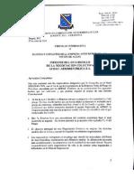 comunicado sobre la propuesta de la empresa al pliego