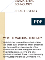 Jf 302 Material Technology