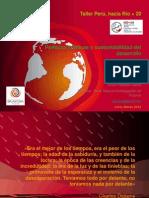 Políticas públicas para la sustentabilidad - Río+20 -  Erick Pajares.