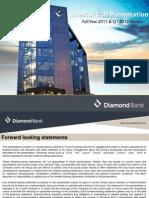 Diamond Bank IR Presentation FY 2011 & Q1 2012 Results