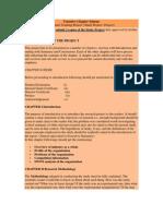 Tentative Chapter Scheme