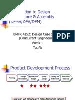 W1 Des for Manuf Assembly DFA DFM