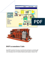 BOP Accumulator Units