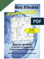 Mots fléchés gratuits #1 (Format A4)