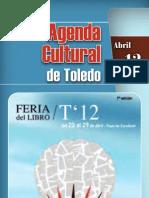 Agenda Cultural de Toledo Abril 2012