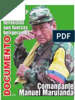Las FARC No Son Terrorist As Son Fuerzas Beligrantes