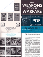 The Weapons of Our Warfare by W. v. Grant, Sr